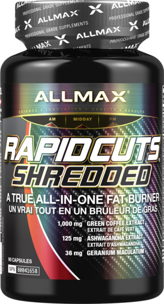 AllMax RapidCuts Shredded - 90 капсули